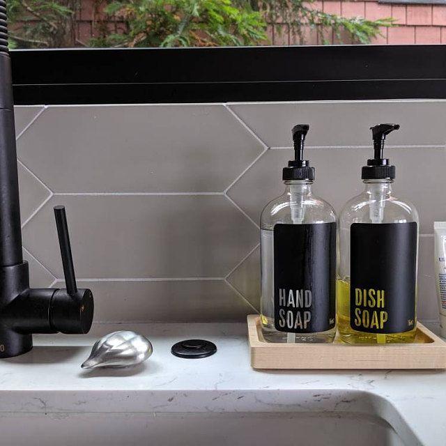 Kitchen Soap Dispenser Set