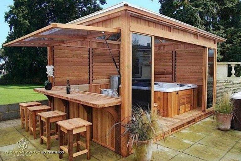 Backyard Hot Tub Privacy Ideas