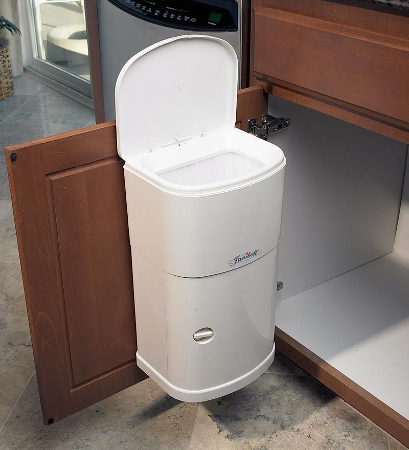 Kitchen Garbage Can With Lid