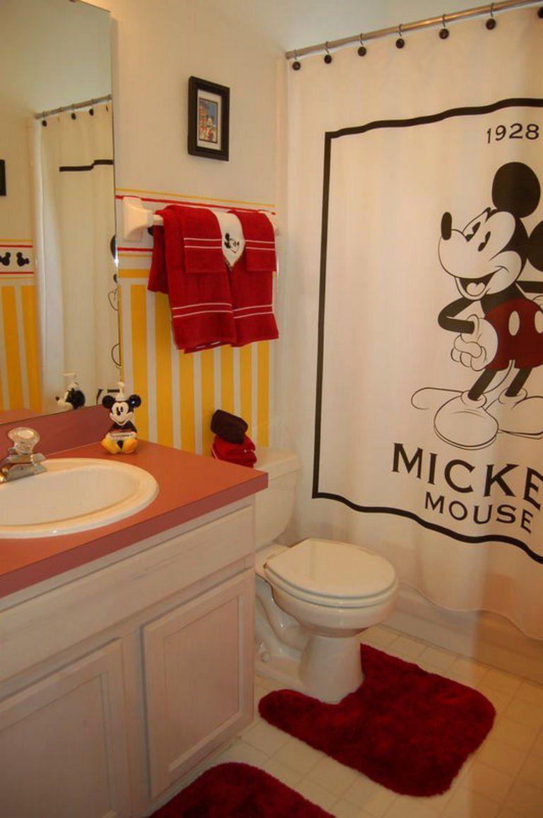 Mickey Mouse Bathroom Decor
