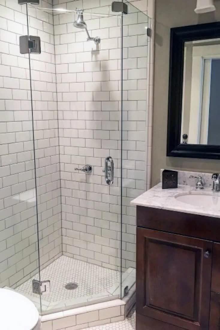 Small Bathroom Corner Shower