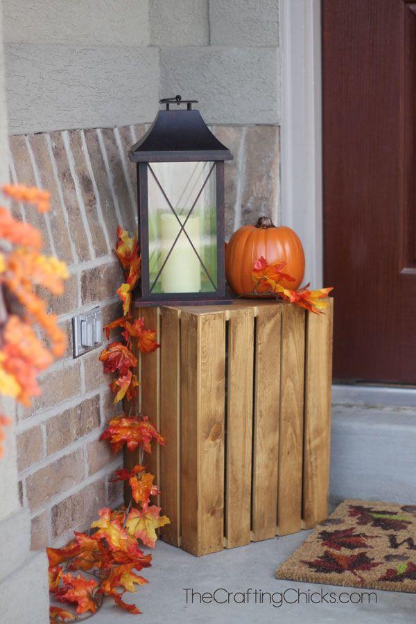 Small Porch Fall Decorating Ideas
