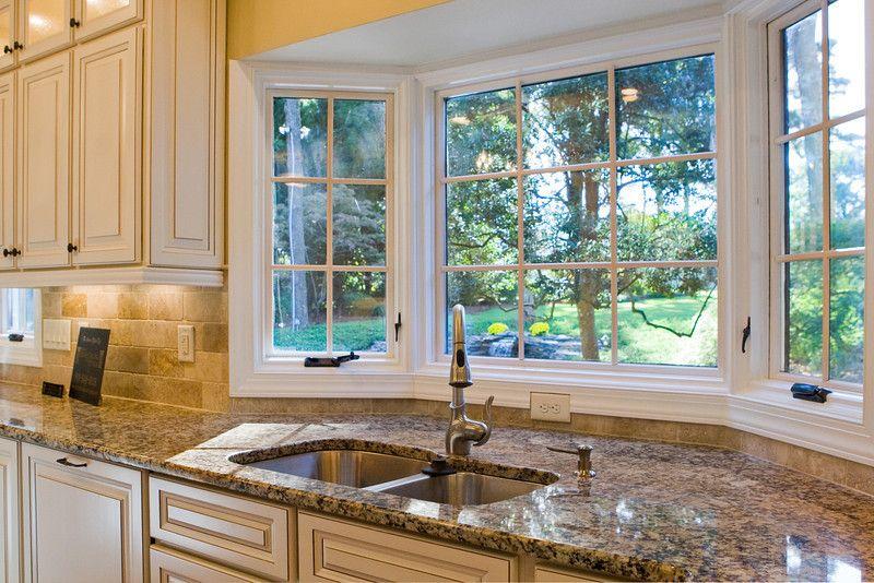 Kitchen Bay Window Ideas