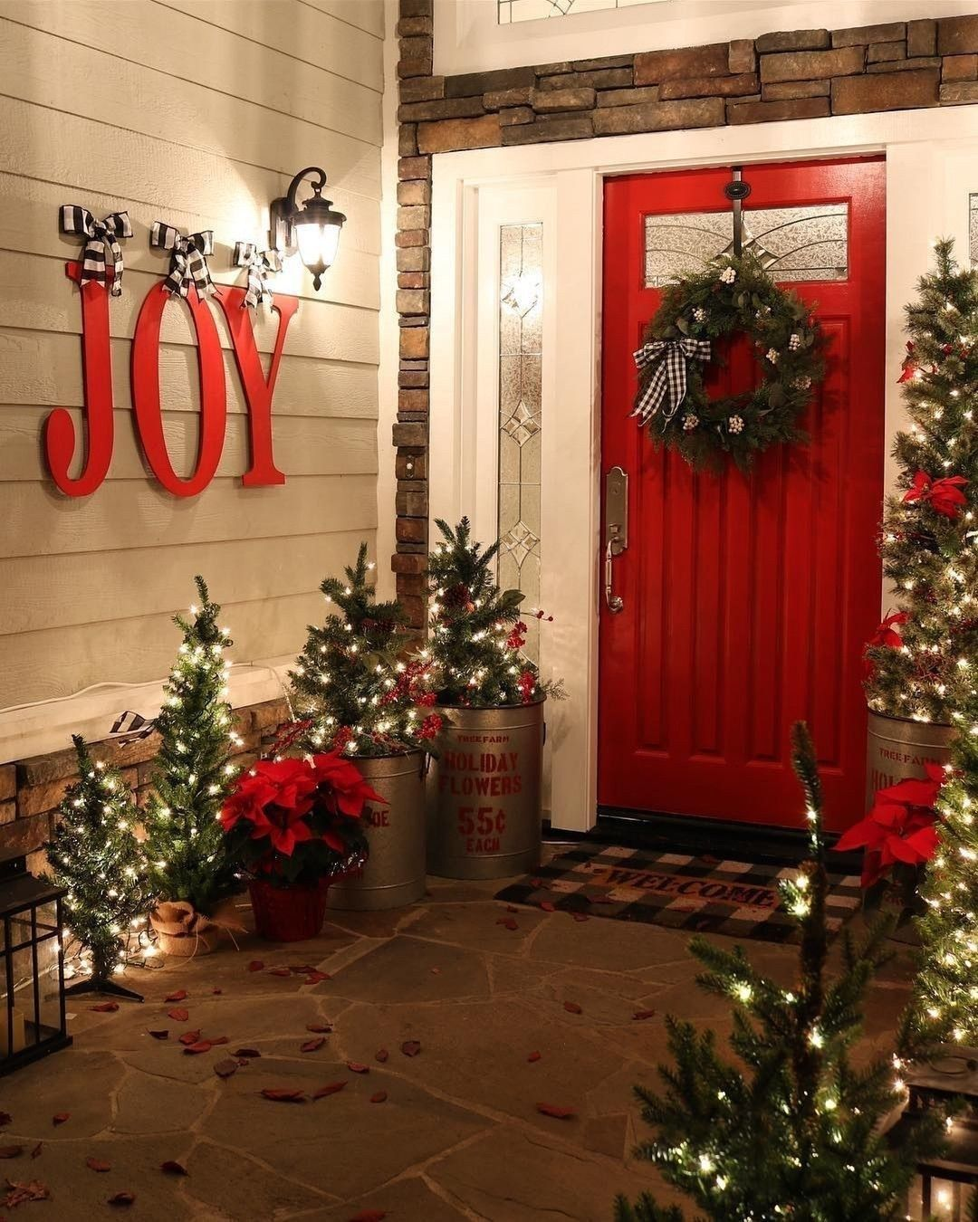Winter Outdoor Christmas Decorations