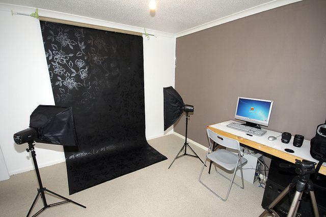 DIY Home Photography Studio