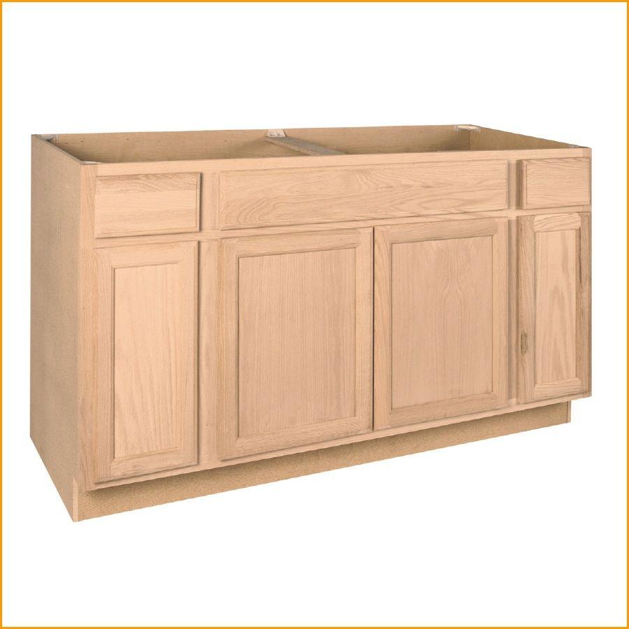 Unfinished Kitchen Base Cabinets