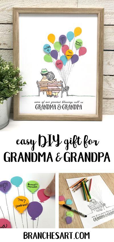 DIY Homemade Gifts For Grandma