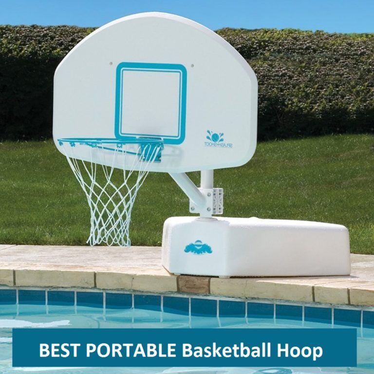 Swimming Pool Basketball Hoop
