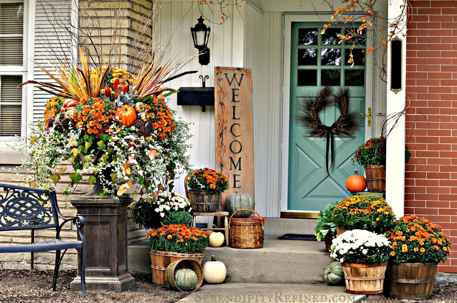 Fall Patio Decorating Ideas