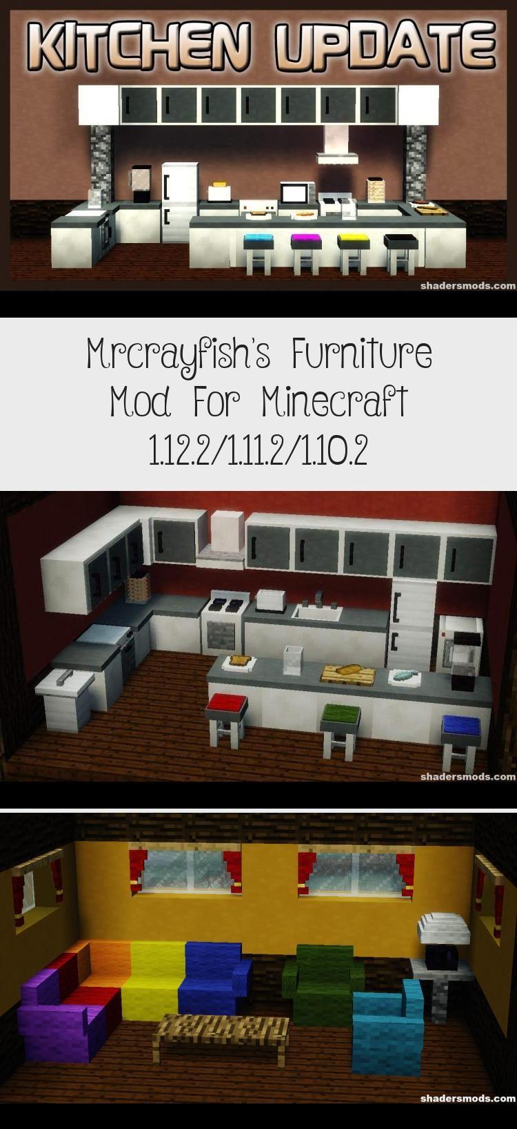 Mrcrayfish Furniture Mod 1.12 2