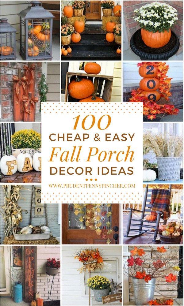 Cheap Fall Home Decor