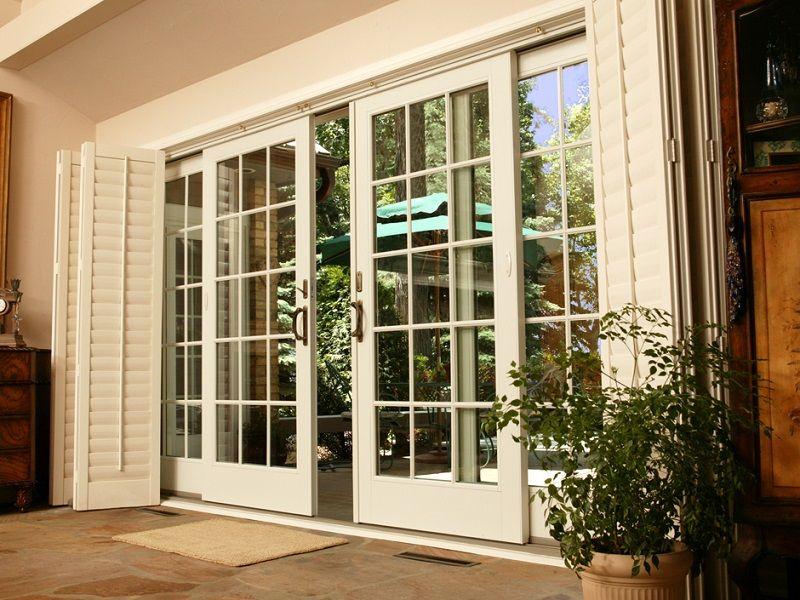 Sliding French Doors Exterior