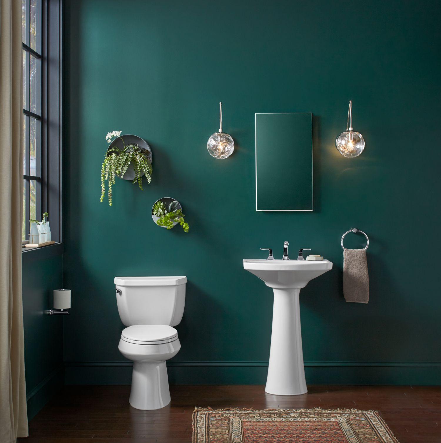 Emerald Green Bathroom