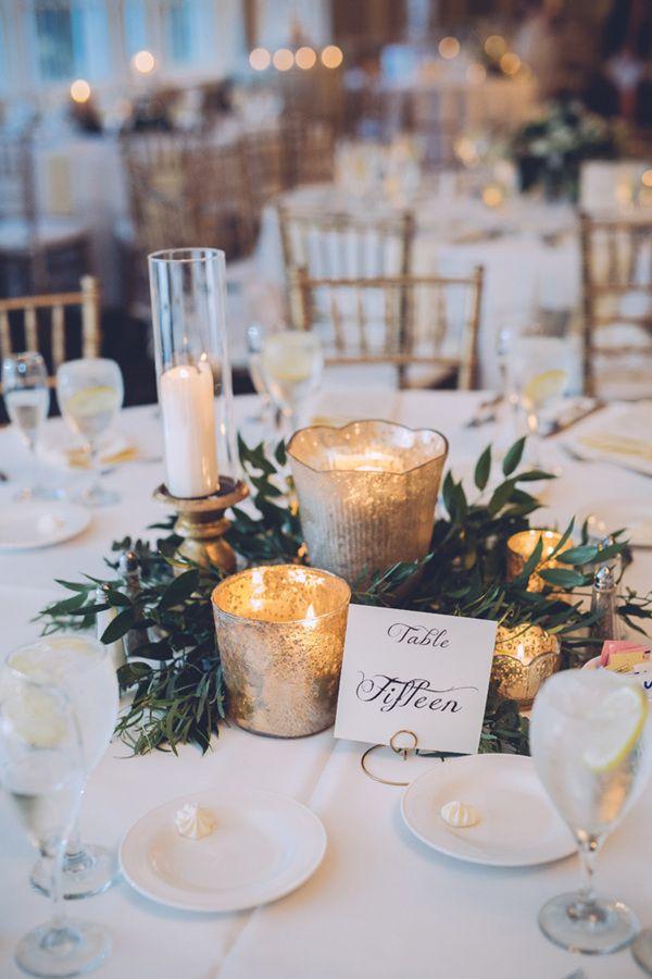 Winter Wedding Table Decorations