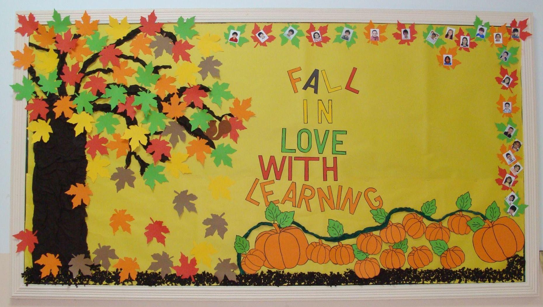 September Fall Bulletin Board Decorations