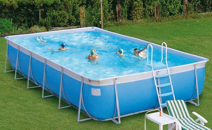 Inflatable Rectangular Swimming Pools