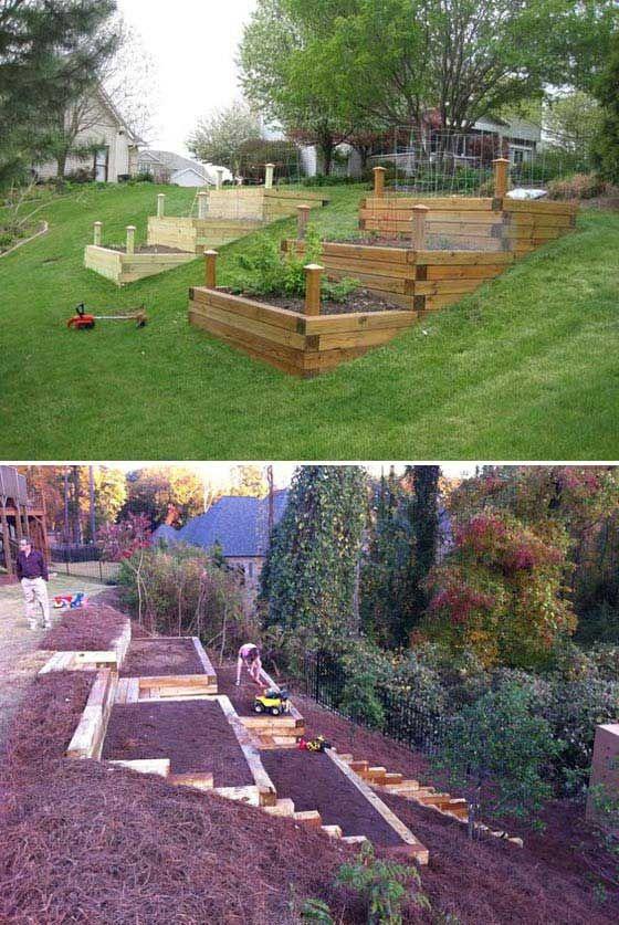 Backyard Hill Landscaping Ideas