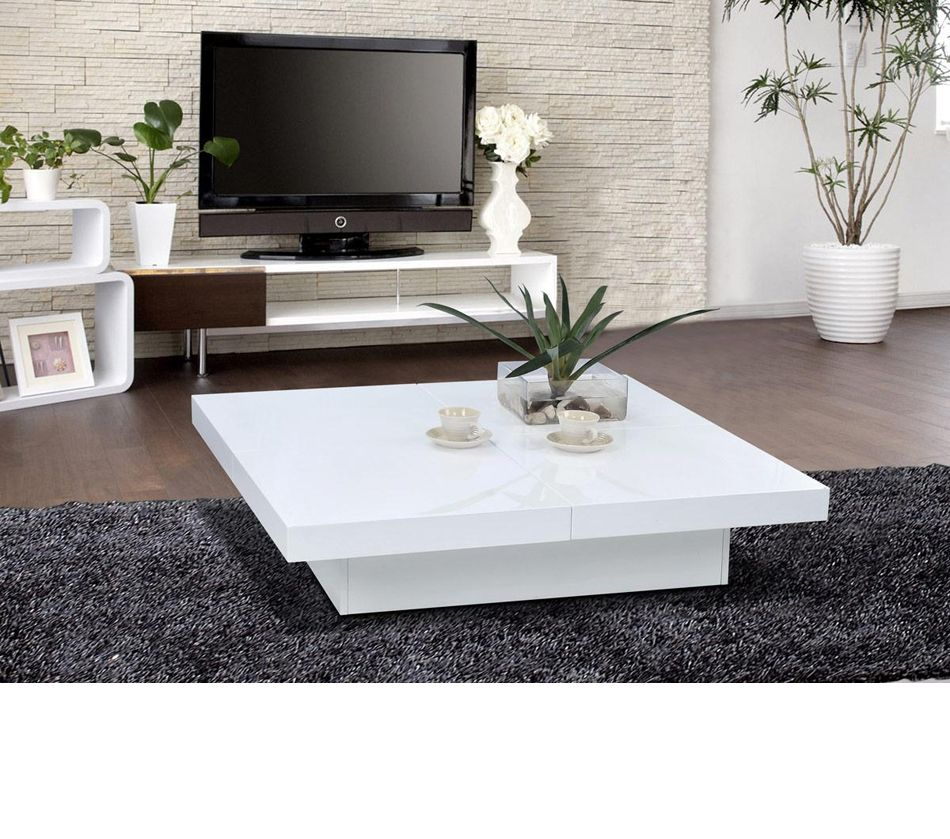 White Living Room Tables