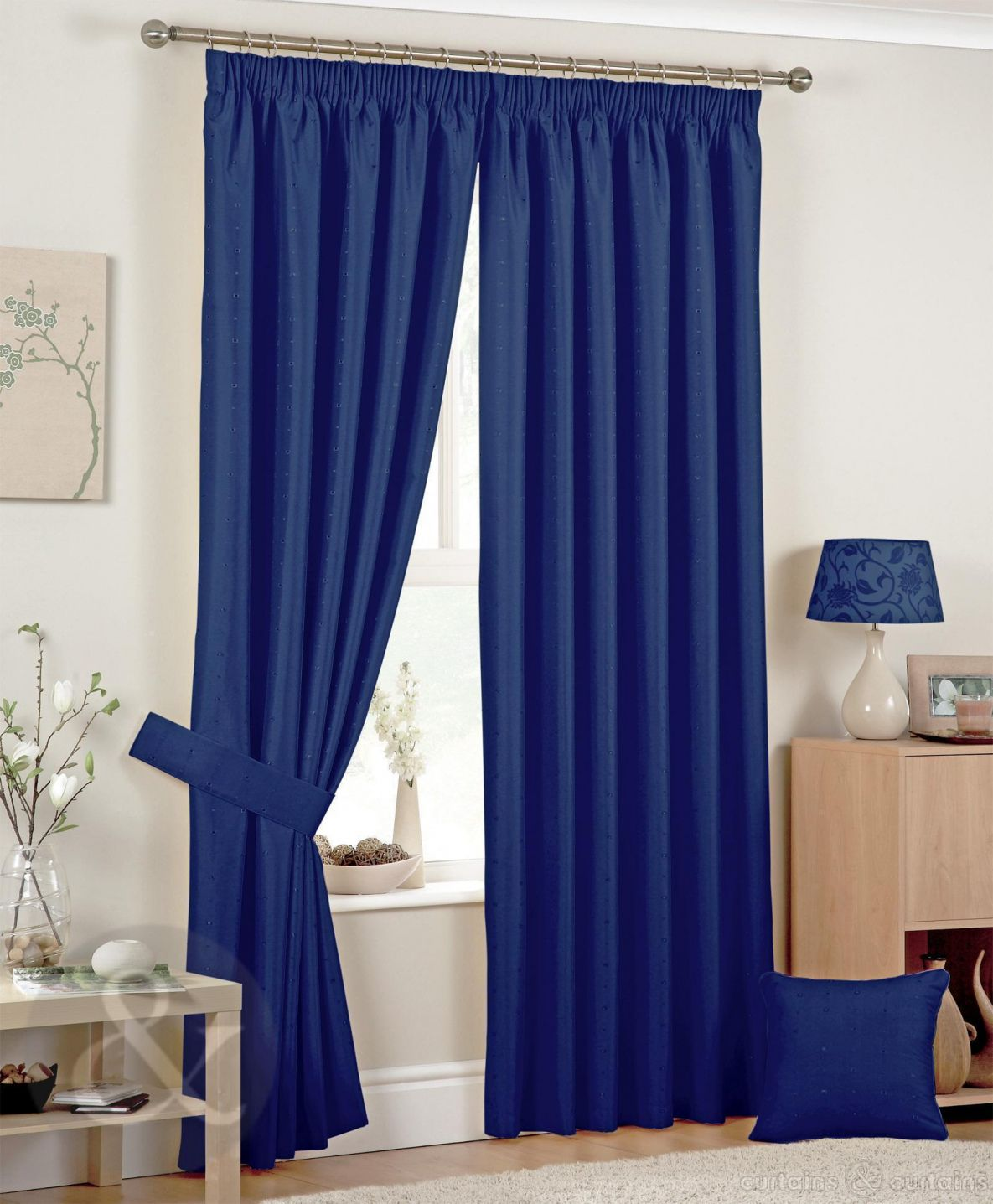Blue Bedroom Curtains