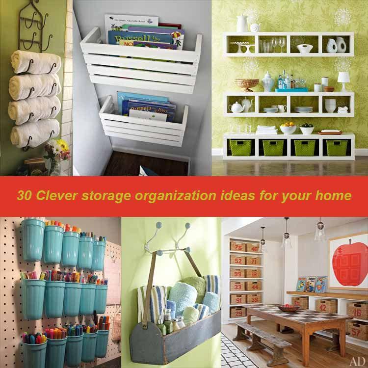 DIY Home Organization Ideas