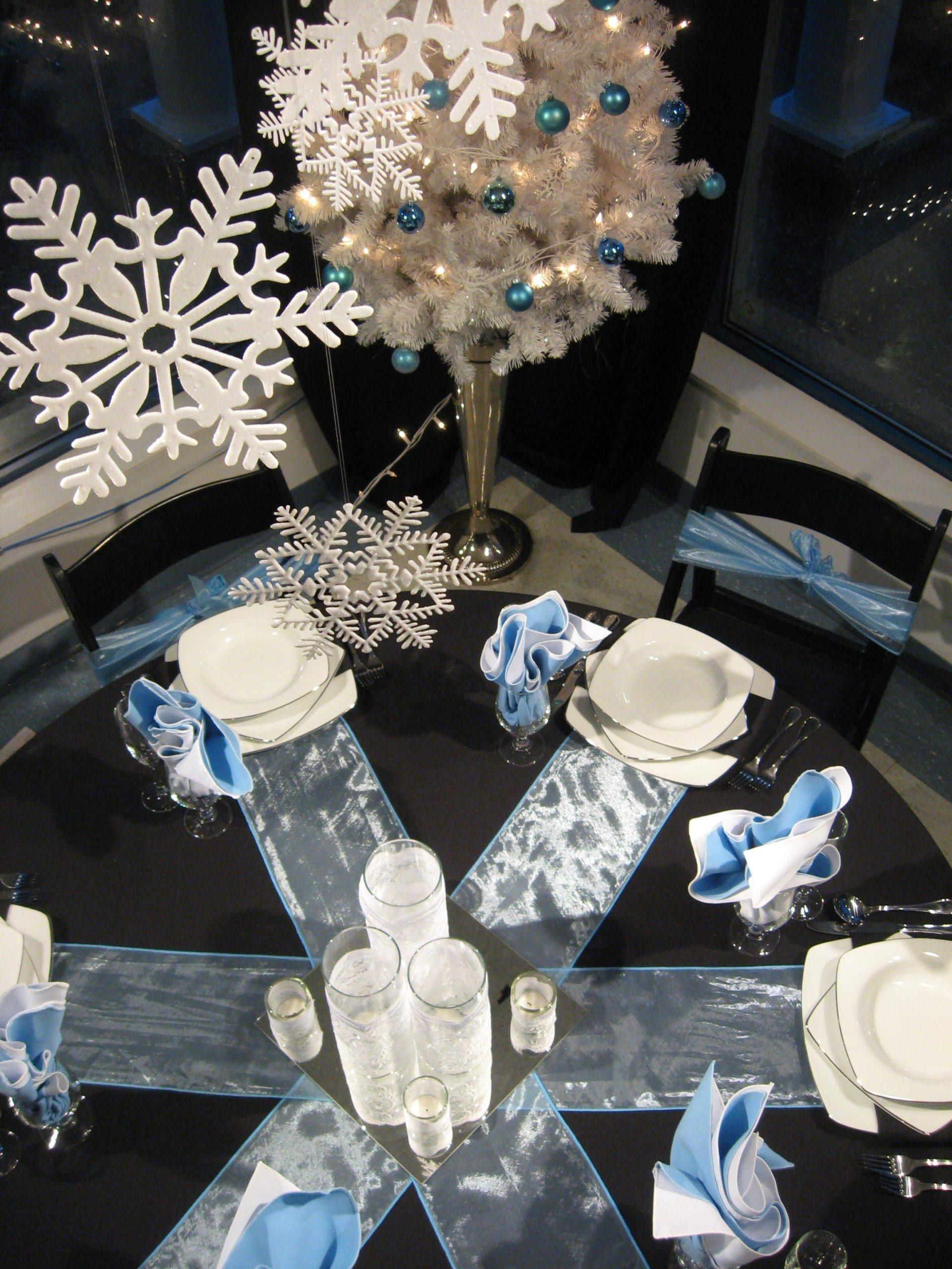 Winter Wonderland Table Decor