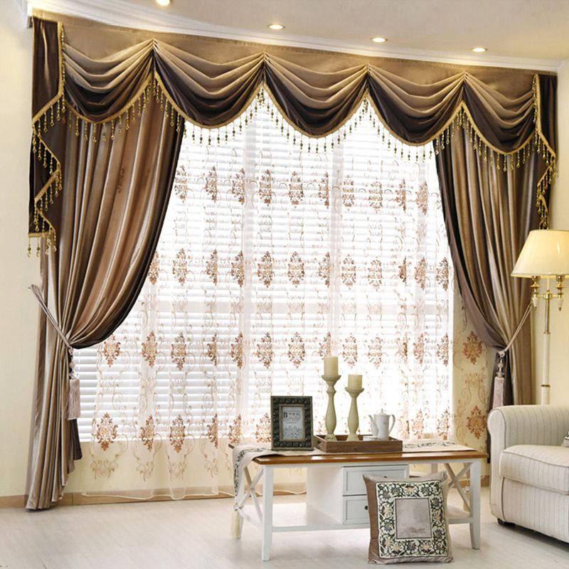 Bedroom Curtains With Valance
