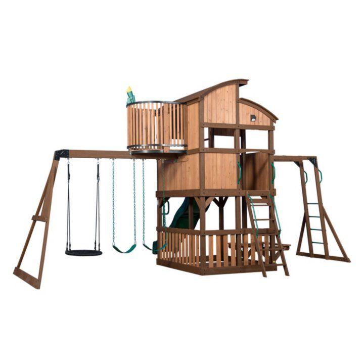 Backyard Discovery Skyfort Elite Swing Set