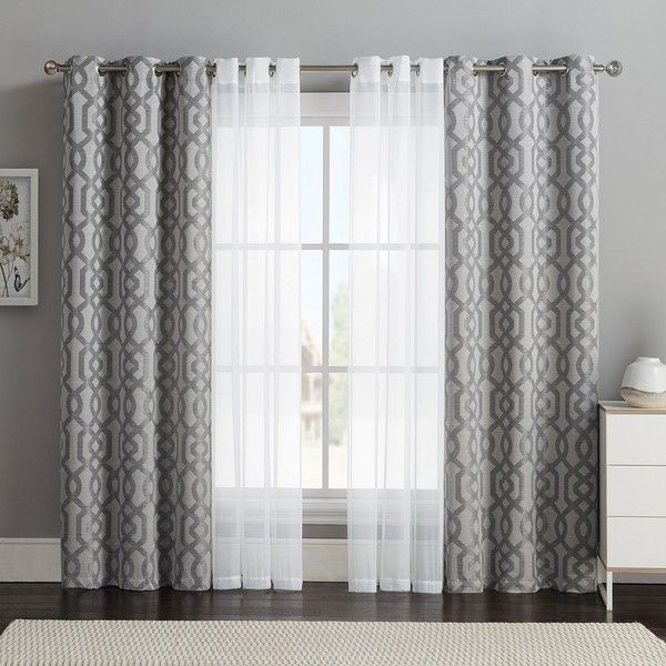 Gray Living Room Curtains