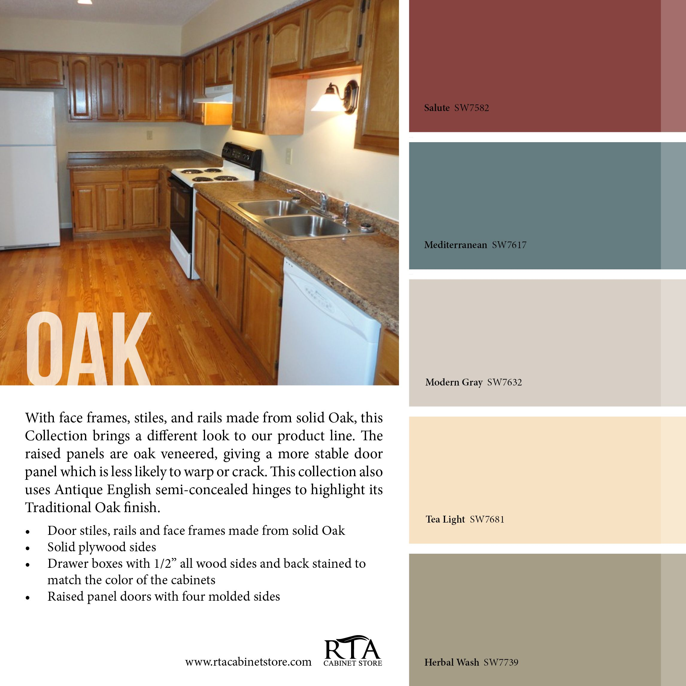 Popular Kitchen Paint Colors With Oak Cabinets