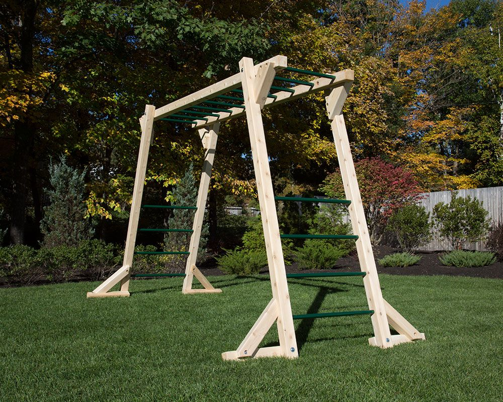 Stand Alone Monkey Bars For Backyard