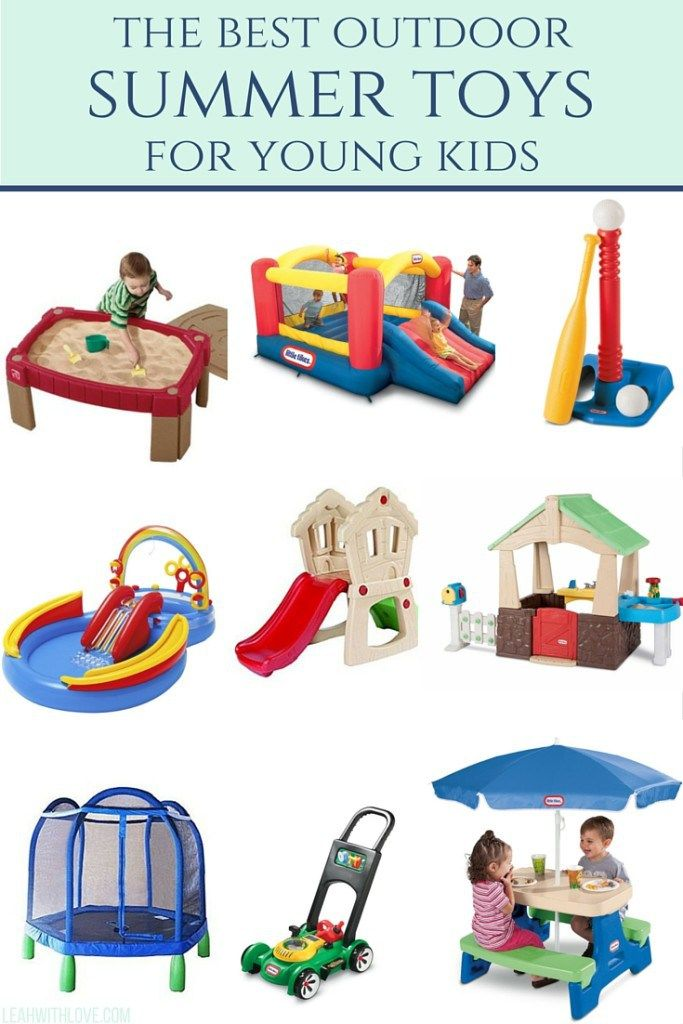 Backyard Toys For Toddlers
