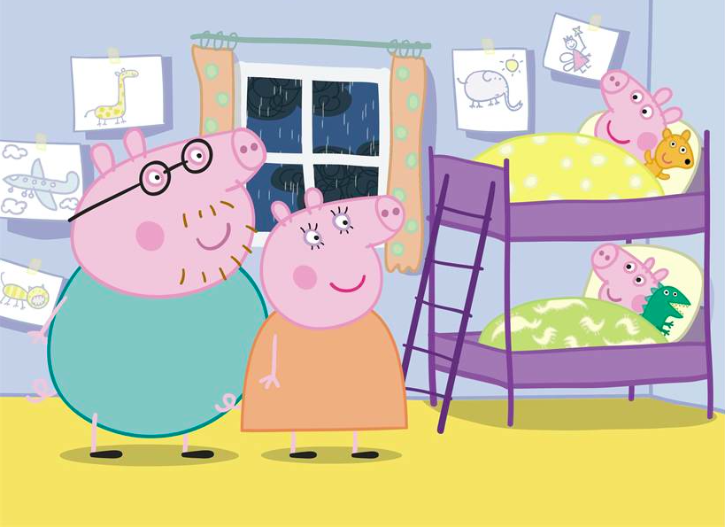 Peppa Pig Bedroom