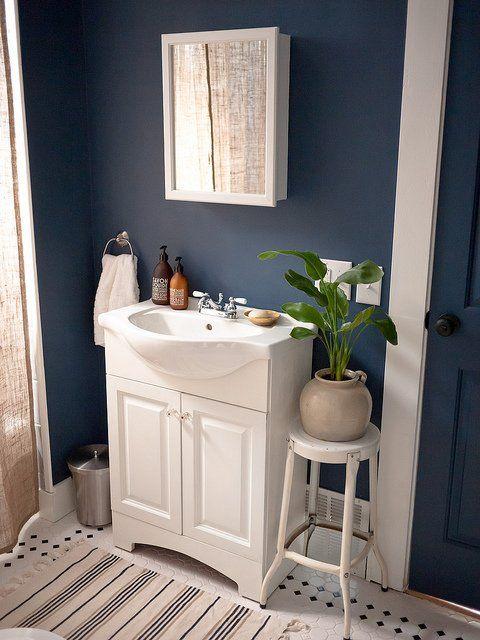 Blue Bathroom Paint