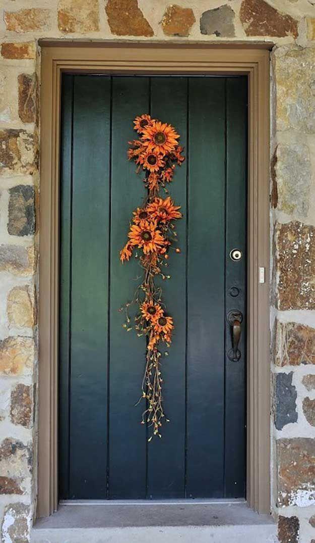 DIY Fall Door Decorations
