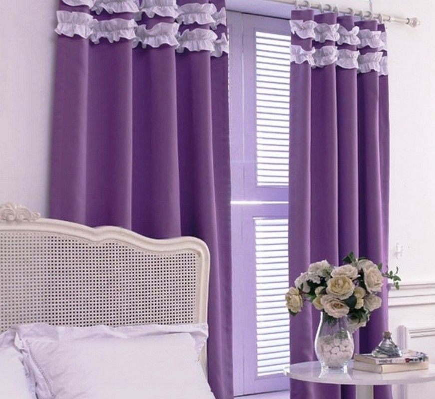 Purple Curtains For Bedroom