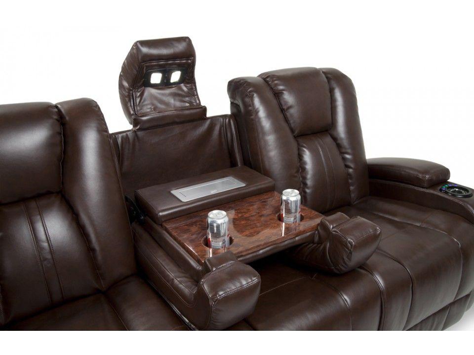 Bobs Furniture Recliner Sofa