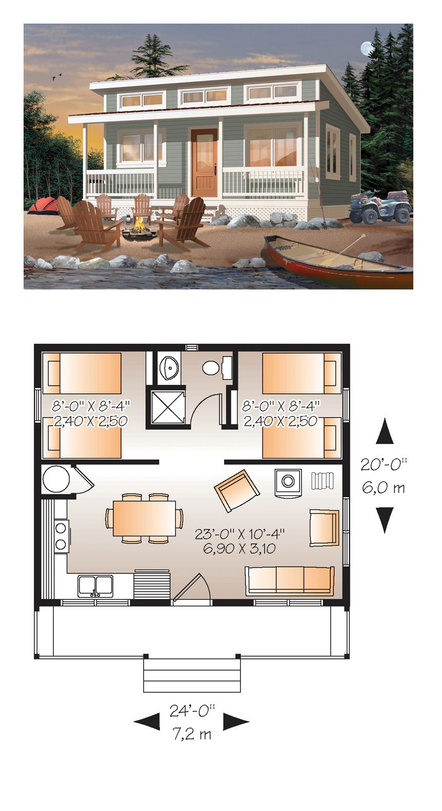 Two Bedroom Tiny House
