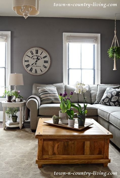 Country Style Living Room