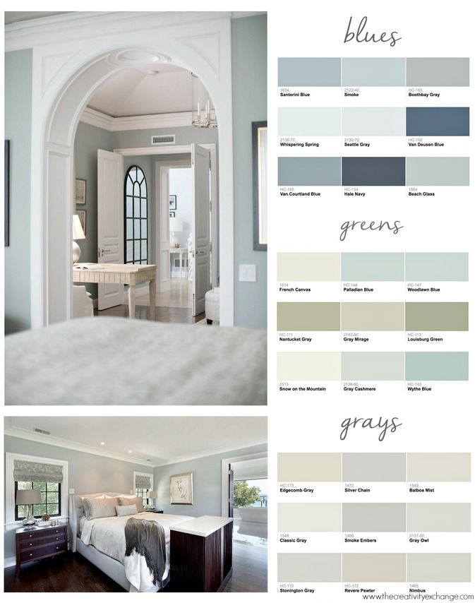 Popular Paint Colors For Bedrooms