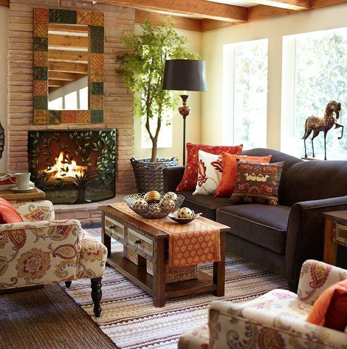 Cozy Autumn Living Room Decor