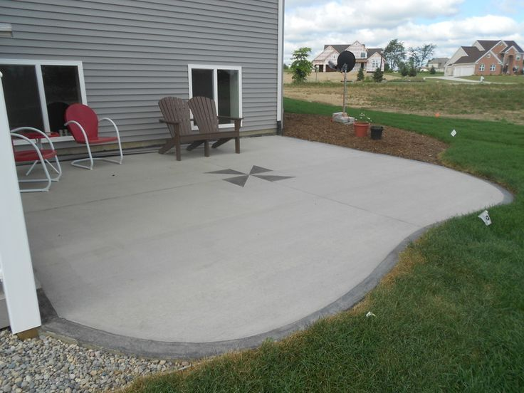 Backyard Concrete Patio Ideas