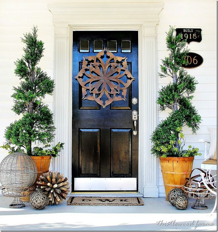 Front Door Decor Ideas For Spring