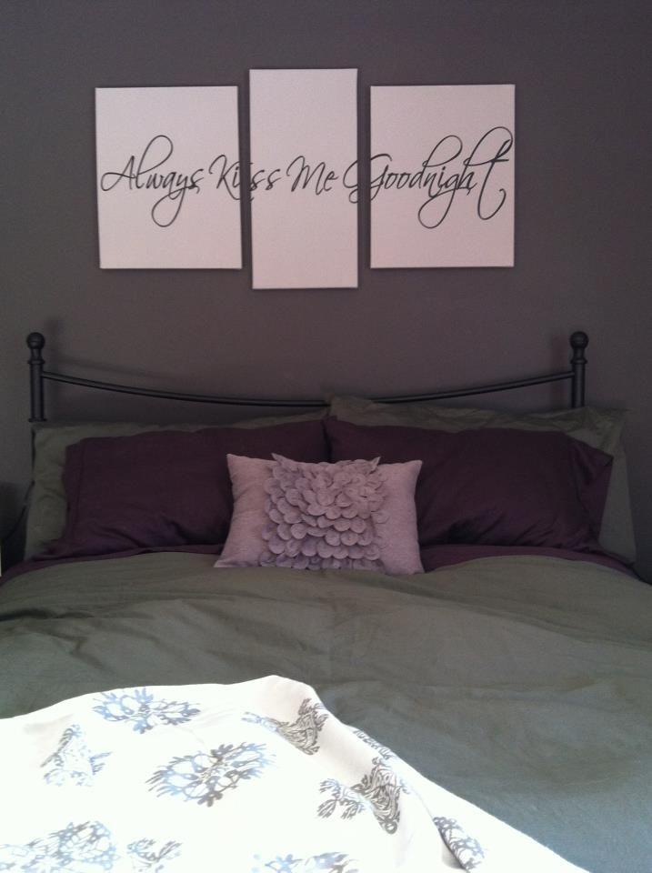 Bedroom Canvas Wall Art