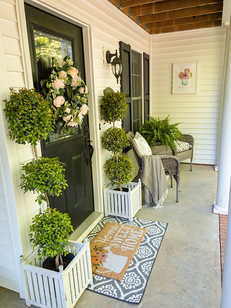 Front Porch Decorating Ideas For Spring
