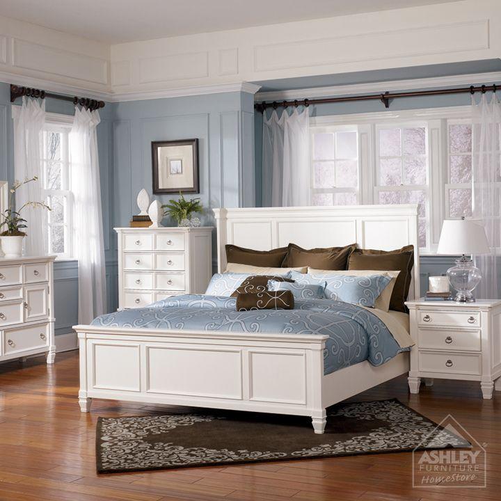 Ashley Furniture White Bedroom Set