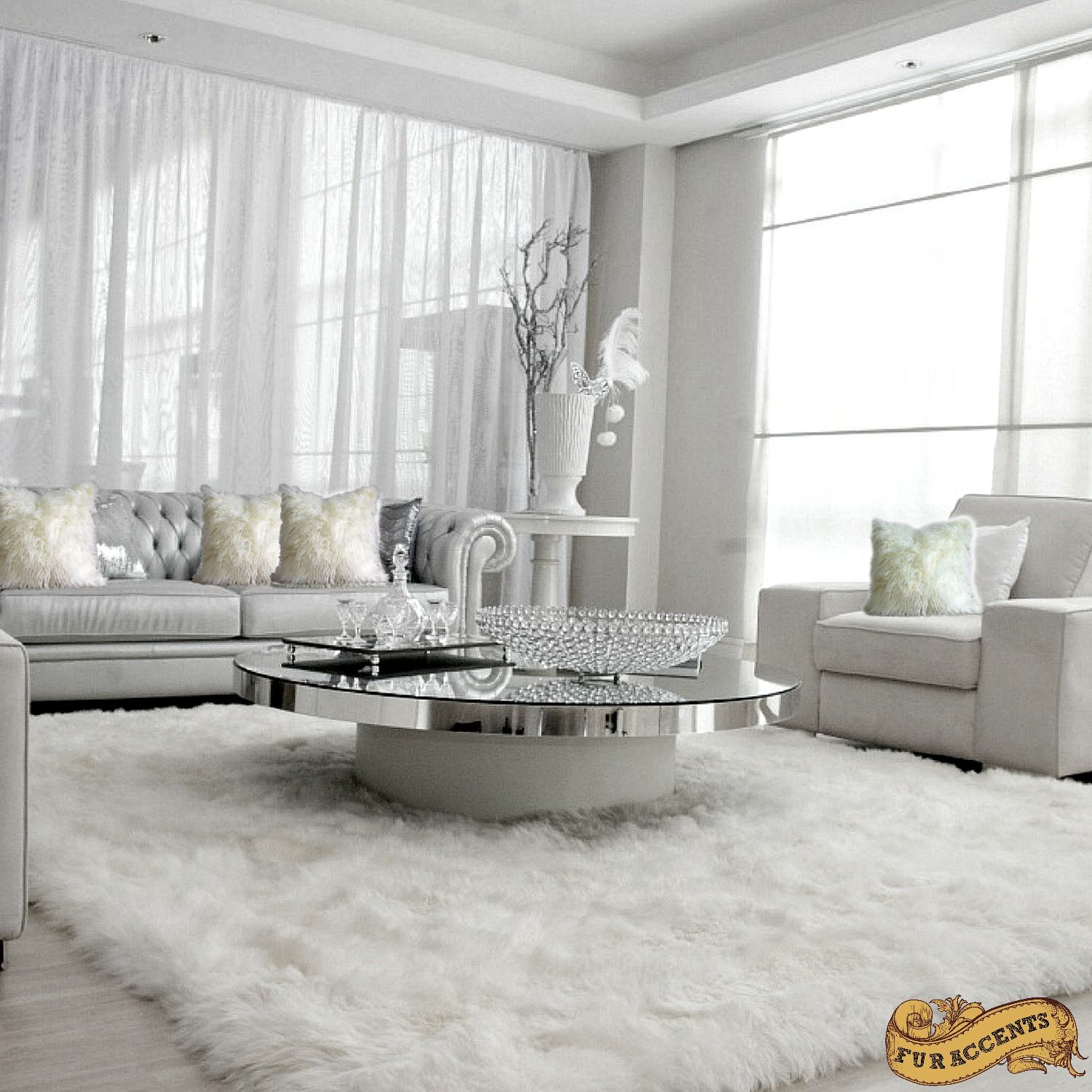 Furry Rugs For Living Room