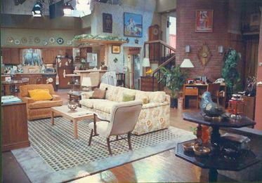 Married With Children Living Room