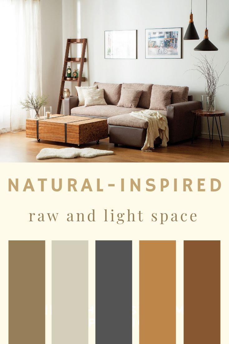 Earth Tone Living Room