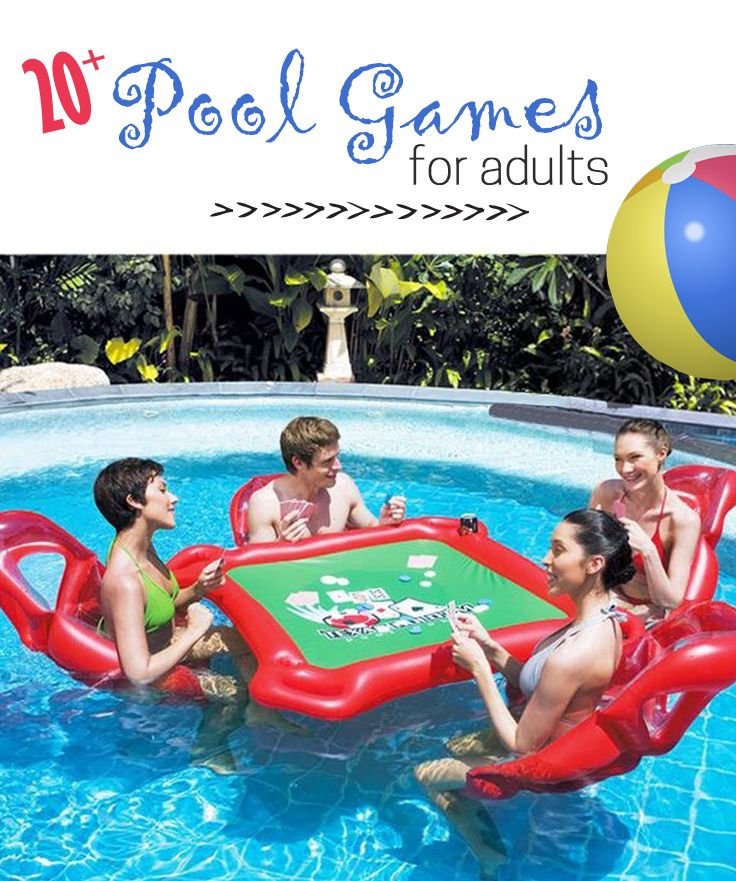 Swimming Pool Games For Adults