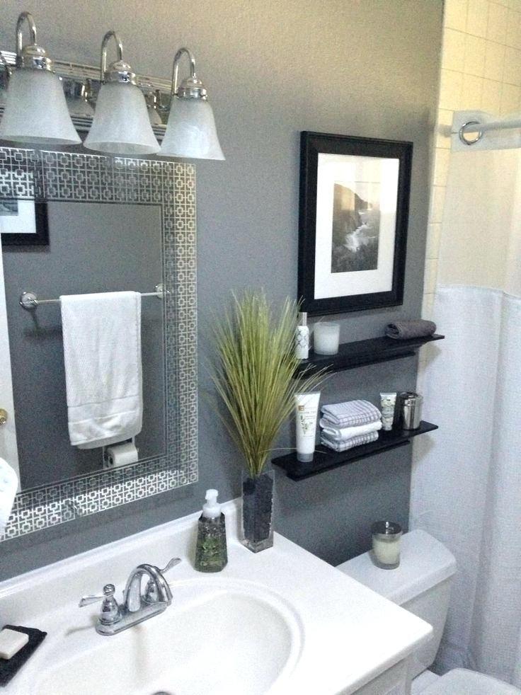 Gray Bathroom Decor